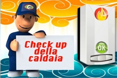 Controllo Check Up Caldaia............................... .40 Euro invece di 140 Euro